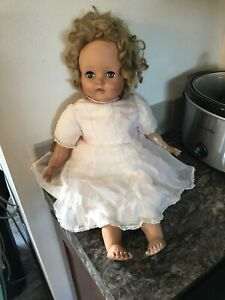Vintage-1950-s-Madame-Alexander-Rosebud-Baby-Doll-W-Wendy-Face-Rare