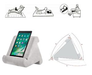 Lightweight-Tablet-Pillow-Stand-For-iPad-Book-Holder-Rest-Lap-Reading-Cushion