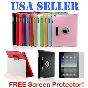 New-Magnetic-PU-Leather-Smart-Cover-Case-Stand-Pen-Pouch-for-The-New-iPad-3-amp-2