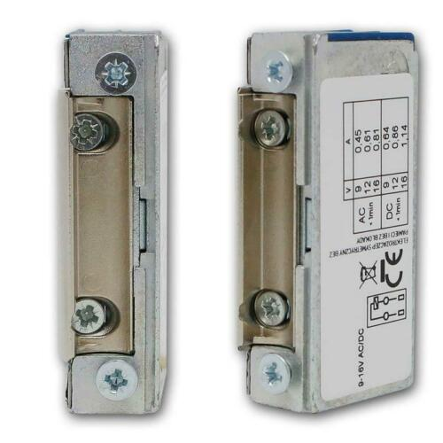 MINI Slim Summer Symmetrisch 9-16V DC//AC Elektrischer-Öffner Elektro Türöffner