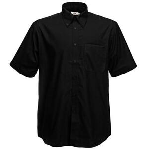 Fruit-of-the-Loom-Oxford-Short-Sleeve-Shirt