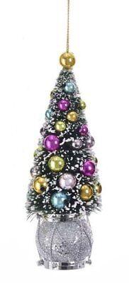 Kurt Adler Sisal Tree W Ball And Drum Christmas Ornament Style B Ebay