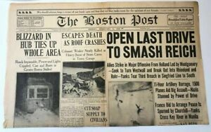 The-Boston-Post-Newspaper-1945-World-War-2