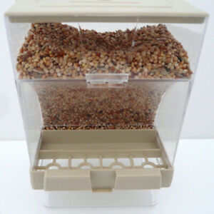 Bird-Pet-Seed-Gravity-Feeder-splash-proof-Automatic-Food-Container