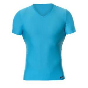 BRUNO-BANANI-hombre-camiseta-escote-en-V-BATTERY-TURQUESA-M-L-XL-xxl-NUEVO