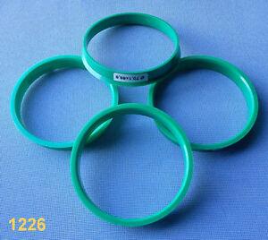 1 x anilla anillo distanciador llantas de aluminio fz21 74,1-63,4 mm CMS DBV-nuevo