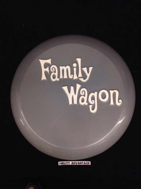 Family Wagon Continental Tire Carrier Face Plate - 27 7/8