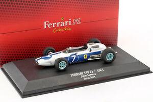John-Surtees-Ferrari-158-7-coupe-du-monde-de-Formule-1-1964-1-43-Atlas