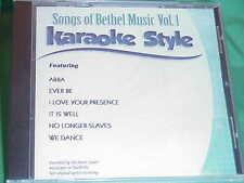 Songs of Bethel Music ~ Christian~Daywind~Karaoke Style ~~ We Dance ~~ CD+G~New