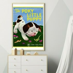 The Poky Little Puppy Children's Book POSTER! (up to 24 x 36) - Vintage 1978