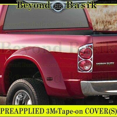 2002-2008 Dodge Ram 1500 ABS Chrome Full Light Bezel Tail Light Cover Trim