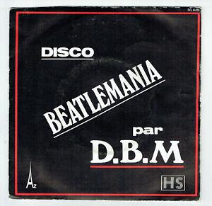 D-B-M-BEATLEMANIA-Vinyl-45T-7-034-DISCOBEATLE-MANIA-KISS-ME-Disco-AZ-649-Beatles