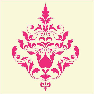 Fairydust pochoirs /& masques-large damassée