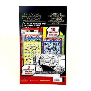 Star-Wars-800-Sticker-Activity-Pad-Play-Scenes-C3PO-R2D2-Han-Solo-Chewbaca-3