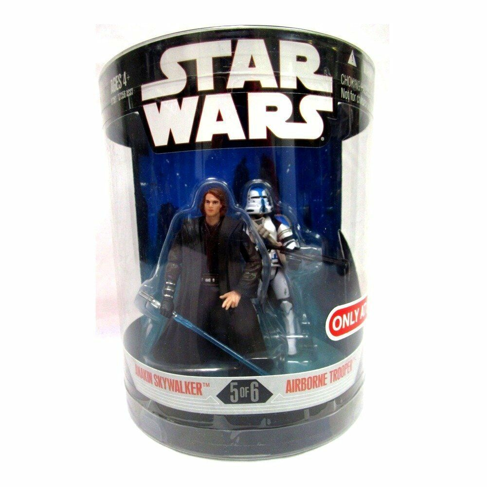 Hasbro Star Wars 30th aniversario orden 66 Anakin Skywalker  Airbourne Trooper