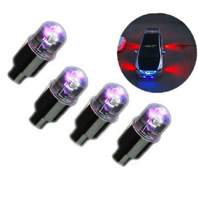 Hot Sale 1 Pair Motor Cycling Bike Bicycle Car Tyre Tire Valve LED Wheel Lights