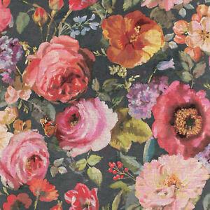 Rasch-Tapete-Barbara-Schoneberger-527865-Grand-fleurs-fleurs-papier-peint