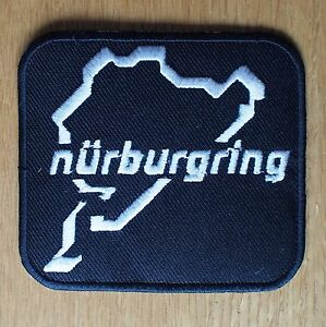Motorcycle-Biker-Cloth-Patch-Leathers-Suzuki-Yamaha-Kawasaki-Honda-NURBURGRING