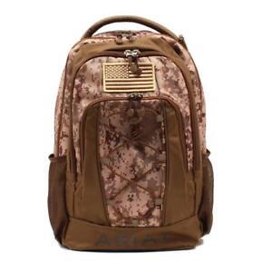rucksack schnurvorderseite logo Ariat Bungee griff Camo Tan Usa A4600002156 Flag Patch Rd6qUIUW