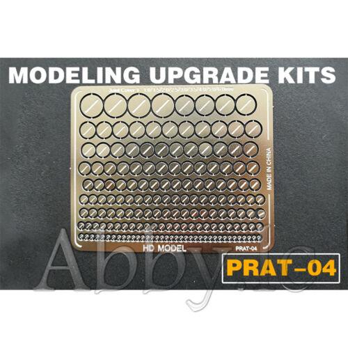 6 PCs Metal Etch Sheet Detail up Parts Set for RG HG MG PG Gundam Model Fitting
