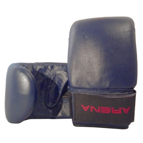 ARENA Boxing Bag Mitts Sparring, MMA, Kickboxing, Karate, Training Gloves BLUE