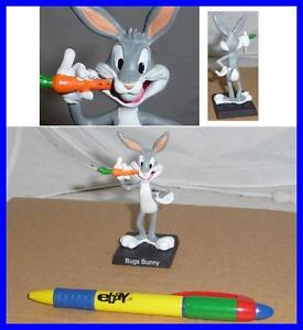 RARE BIG 7/'/' Figure BUGS BUNNY WITH CARROT Looney Tunes ITALIAN DE AGOSTINI Mint