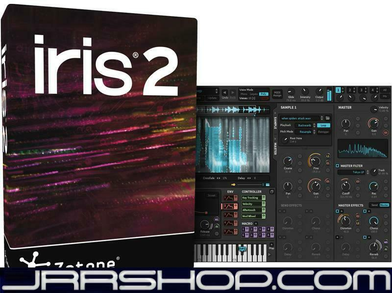 IZotope Iris 2 Upgrade from Iris 1 eDelivery JRR Shop