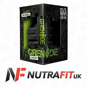 GRENADE BLACK OPS thermo fat burner weight loss caps