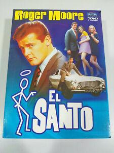 El Santo Tercera Temporada 3 Completa Roger Moore - 7 x DVD Español Ingles