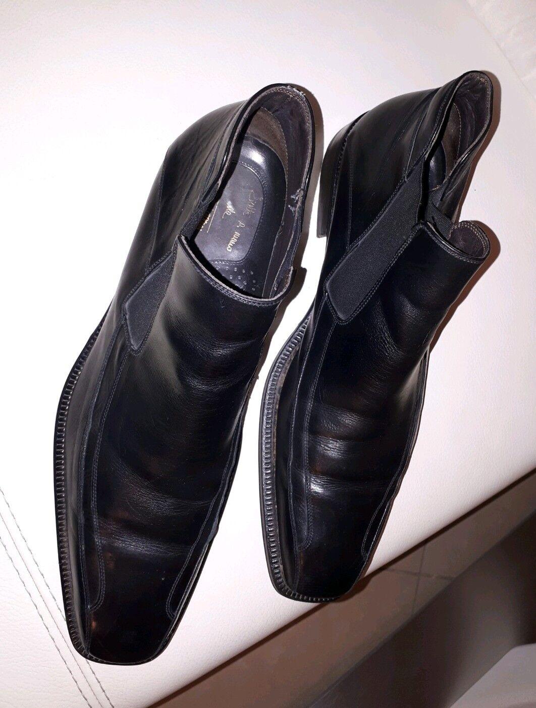 Galizio Toressi Herren Halbschuhe Schuhe Stiefel Gr. 45 Echtleder    | Genial