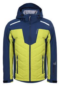 Details zu Icepeak NEVILLE Skijacke Herren gelbblau