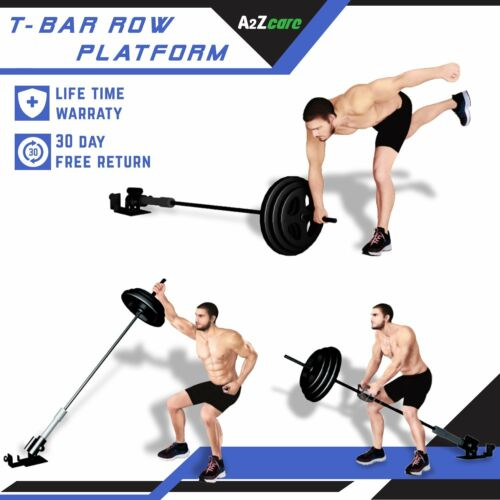 Back Exercise Machine Attachment Olympic Landmine A2ZCare Platform T Bar Row