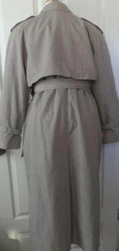 Taille Coat Gris Fog Manteau 6p Trench Petite Longs London OHqIYI