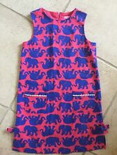 Lilly Pulitzer Girls Shift Dress Little Lilly Size 12 Elephants