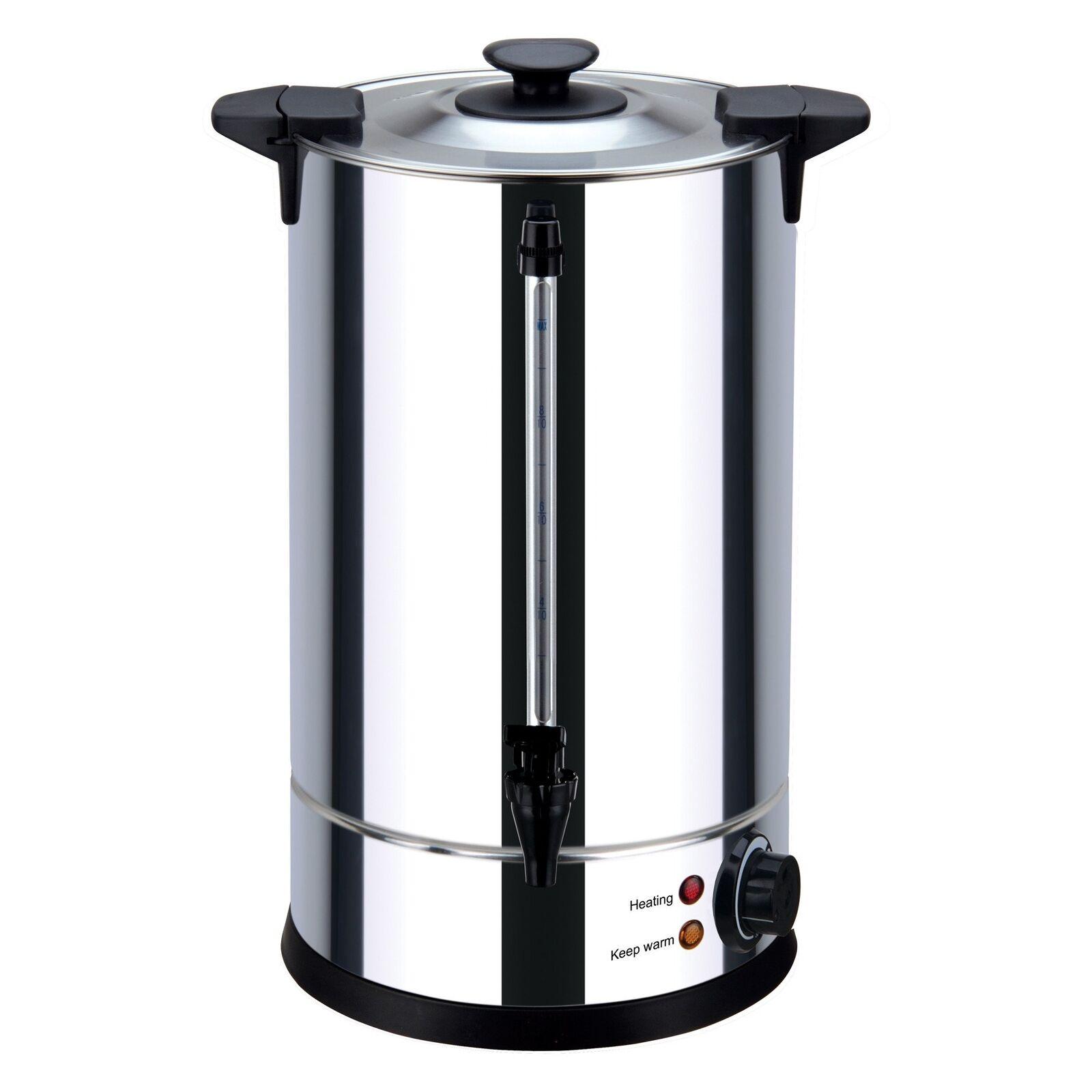 Igenix IG4018 Catering Urn & Hot Water Boiler, 18 Litre