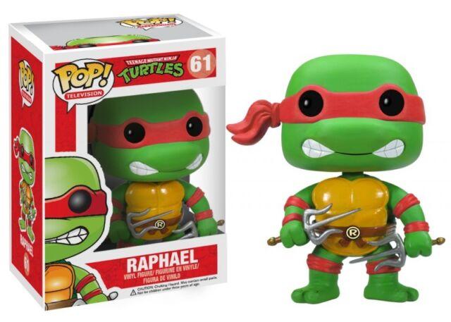 Teenage Mutant Ninja Turtles 61 Raphael Funko Pop! TV Vinyl Figure Brand New