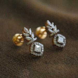 2ct-d-vvs1-round-shape-diamond-stud-earrings-push-back-fine-14k-yellow-gold-over