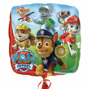 PAW-PATROL-HELIUM-QUALITY-SQUARE-FOIL-BALLOON-45CM-18-034-BIRTHDAY-PARTY-SUPPLIES