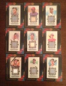 9-Different-2009-Topps-Allen-amp-Ginter-Game-Used-Relic-Cards
