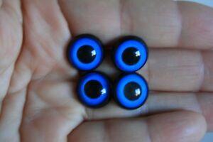Ojos de Seguridad Azul 14 mm para Osos de Plush Amigurumi Juguetes animales