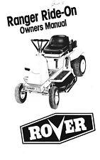 Mini rider 6 speed ride on mower rover.