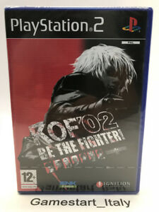 THE-KING-OF-FIGHTER-2002-PS2-NEW-SEALED-NUOVO-PAL-VERSION-KOF-02-PLAYSTATION-2