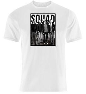 Supernatural-Squad-T-Shirt-Unisex-Men-039-s-amp-Ladies-White-T-Shirts