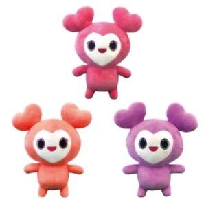 TWICE-JPN-1st-ARENA-TOUR-BDZ-Official-LOVELY-Plush-Toy-3sets-Purple-Pink-Peach