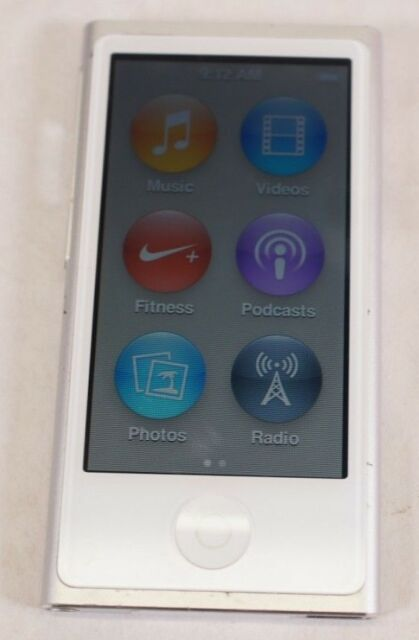 Good Used Working Green Apple iPod Nano 7th Generation 16GB A1446 MP3 Player