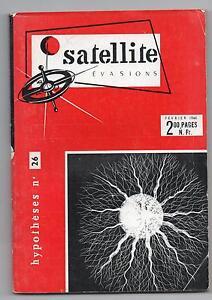SATELLITE n°26 - revue de Science-Fiction 1960. TBE