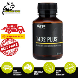 ATP Science T432 Plus Thermogenic Fat Burner Increase metabolism 120 caps