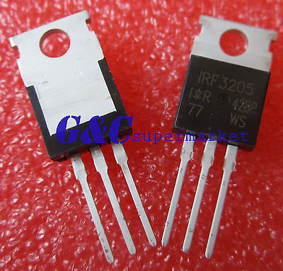 5pcs IRF3205PBF IRF3205 MOSFET N-CH 55V 110A TO-220 NEW GOOD QUALITY T42