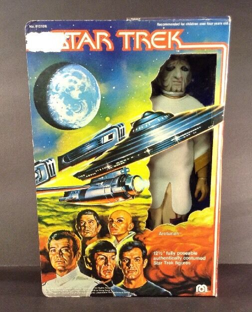 Mego 1979 Star Trek Motion Picture Arcturian 12 1 2  Action Figure - BOXED (362)