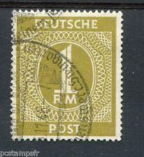 ALLEMAGNE BIZONE, 1945-46, timbre n° 20, série courante, oblitéré